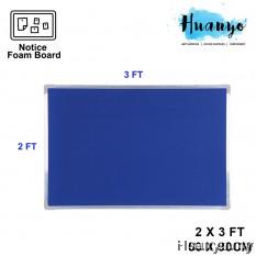Aluminium Frame Notice Foam Board (2' X 3' / 60 x 90 CM)