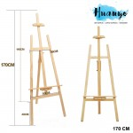 Apex Wooden Artist Painting Display Easel Stand (170CM)