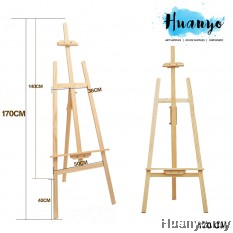 Wooden Artist Painting Display Easel Stand (170CM)