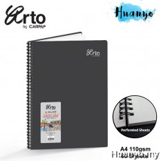 Campap Arto Wire O Wire-O Sketch Book CR36132 A4 110gsm/60 sheets