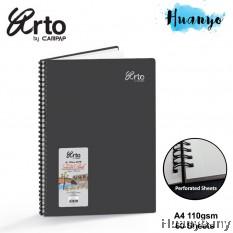 Campap Arto Wire O Wire-O Sketch Book CR36132 A4 110gsm/60 sheets