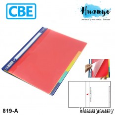 CBE 819A Index Management File A4 with 5 Index Divider