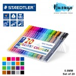 Staedtler Triplus Broadliner Colours 0.8MM (Set of 20)