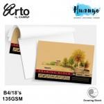 Campap Arto Drawing Paper Block B4 135GSM/18 Sheets