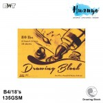 RWT Drawing Paper Block B4 135GSM/18 Sheets