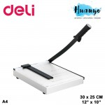 Deli A4 Paper Cutter Metal Base 8014
