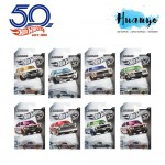 Hot Wheels ZAMAC 50th Anniversary Collection Die Cast Car Series (Set of 8)