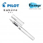 Pilot Kakuno Calligraphy Fountain Pen - Clear Barrel