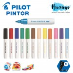 Pilot Pintor Paint Marker Pen Medium 1.4MM - Basic Colour [Metal, Plastic,Fabric] (Per PCS)