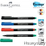 Faber-Castell Multimark 1523 Multi Surface OHP Erasable Permanent Marker (S/M)