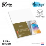 Campap Arto Watercolour A1 85 X 60 CM Painting Paper 300gsm/5pcs (Cotton)