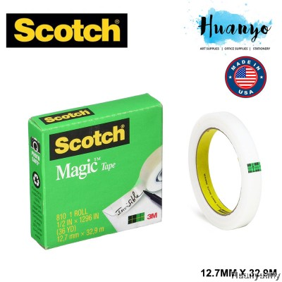 3M Scotch Magic 810 Invisible Adhesive Tape 12.7mm x 33m