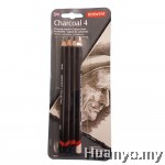 Derwent Charcoal pencil (Set of 4)