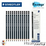 Staedtler Mars Lumograph Black Sketching Drawing Pencil 12pcs/pack [8B / EE]