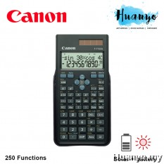 Canon Scientific Calculator F-715SG 250 Functions (Similar to Casio FX-350 MS)