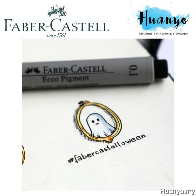 Faber-Castell Fiber Tip Ecco Pigment Liner Technical Drawing Pen (Per Pcs)