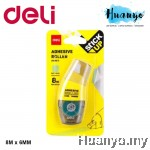 Deli Glue Adhesive Dot Refillable Tape Roller 8 Meter A49011