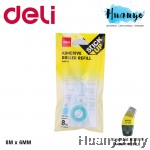 Deli Glue Adhesive Dot Tape Roller 8 Meter A49112 [Refill]