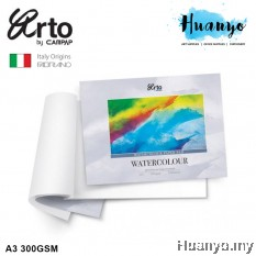 Campap Arto Fabriano Watercolour Paper Pad A3 300GSM 12 Pcs (25% Cotton Cold Pressed)