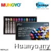 Mungyo Gallery Artists' Oil Pastels Metallic 2 x 6 Colours