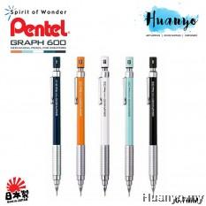 Pental Graph Gear 600 Drafting Technical Mechanical Pencil PG607 0.5MM / 0.7mm
