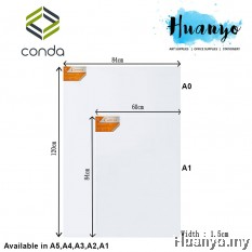 Conda Artist Stretch Canvas (A series: A0 size - 84 x 120cm)