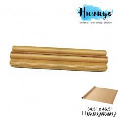 Mahjong Brown Kraft Wrapping Paper 34.5x 46.5 inch (50pcs/Roll)