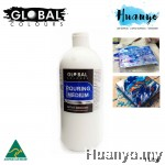 Global Colours Acrylic Fluid Painting Pouring Medium - 1 Litre
