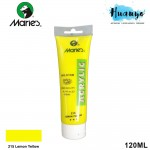 Marie's Acrylic Colour 120ML No.215 (Lemon Yellow)