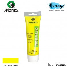 Marie's Acrylic Colour 120ML No.215 (Lemon Yellow)