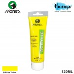 Marie's Acrylic Colour 120ML No.216 (Yellow Pale)