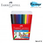 Faber-Castell Fiber Tip Magic Colour Pen  (Set of 12)