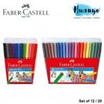 Faber-Castell Fiber Tip Magic Colour Pen  (Set of 12 / 24)