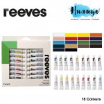 Reeves Acrylic Colour Paint (Color Set of 18)