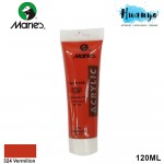 Marie's Acrylic Colour 120ML No.324 (Vermilion Red)