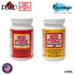 Plaid Mod Podge Non Toxic Waterbase Sealer, Glue & Finish 236ML (Gloss / Matte)