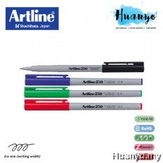 Artline 250 Permanent Marker Pen (0.4MM)