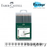 Faber-Castell 9000 Drawing and Sketching Graphite Pencils Set (Set of 12)