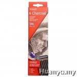 Derwent Charcoal Pencil Tin (Set of 6)
