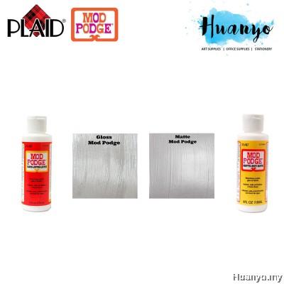 Plaid Mod Podge Non Toxic Waterbase Sealer,Decoupage Glue & Finish [118ML / 4 oz] (Gloss / Matte)