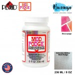 Plaid Mod Podge Extreme Glitter Non Toxic Waterbase Sealer, Glue & Finish 236ML / 8OZ [Extreme Glitter]