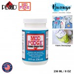 Plaid Mod Podge Fabric Non Toxic Waterbase Sealer, Glue & Finish 236ML / 8OZ [Fabric]