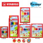 Stabilo Swans Colour Pencil 12 / 24 / 36 / 48 Color Set