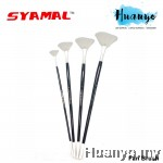 Syamal Artist Water Colour Acrylic Oil Colour Fan Brush (Per PCS, No. 2 / 4/ 6 / 8)