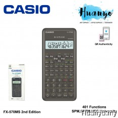 Casio Scientific Calculator FX-570MS 2nd Edition