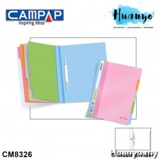 Campap CM8326 Index Management File A4 with 5 Index Divider