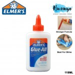 Elmer's Non Toxic Glue-All Multi Purpose Glue 118ML (Best for Slime, Crafts, Repairs, and Projects) [118ML]