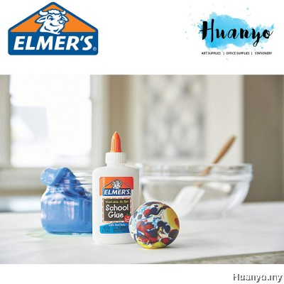 Elmer's Non Toxic Washable School Clear Glue (Best for Clear Slime) [147ML]