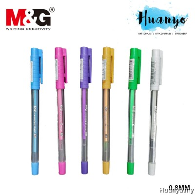 M&G Office G Pastel Colour Gel Pen 0.8mm AG13277