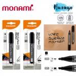 Monami Water Resistant Wet Surface Marker Pen 570 / 571 (Bullet / Chisel Tip)